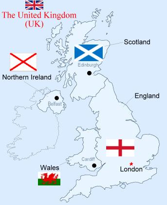 Reino Unido e suas divisões
